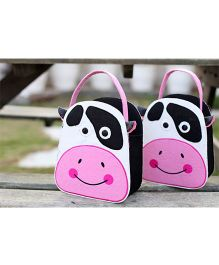 My Gift Booth Cow Design Candy Bag White And Pink - Set Of 2