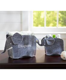My Gift Booth Elephant Shaped Nursery Set - Gray
