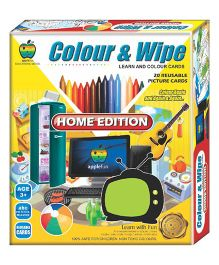 Apple Fun Colour And Wipe Home Edition Junior