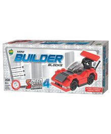 Apple Fun Mini Builder Blocks Speed Racer 4 - 53 Pieces