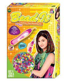 Apple Fun Bead It 3 Fashion Hair Beading Kit - Yellow
