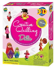 Apple Fun Creative Quilling Dolls