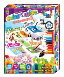 Apple Fun Color & Wipe 4 in 1 Series 1