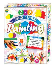 Apple Fun 2 in 1 Finger And Sponge Painting Junior