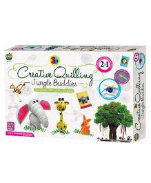 Apple Fun Creative Quilling Jungle Buddies