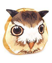 Cat Applique Soft Toy Bag - Cream