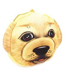 Puppy Face Soft Toy Bag - Beige