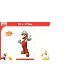 Nintendo Mario Game Figure Red - 20 inches