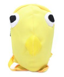 Fish Shape Soft Toy Bag - Yellow