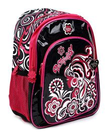 Safari Befabulous Backpack Black And Red - 14 inches