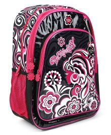Safari Befabulous Backpack Black And Red - 16 inches