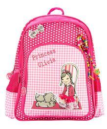 Safari Bags Princess Olivia Backpack Pink - 18 inches