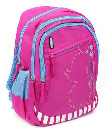 Safari Bags Shadow Print School Backpack Pink - 15 inches