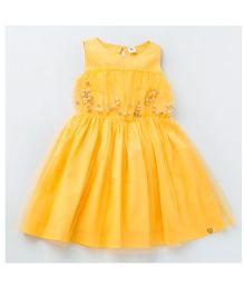 MilkTeeth Juggling Ball Dress - Yellow