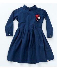 MilkTeeth Pirouette Dress - Navy Blue