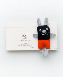 MilkTeeth Unisex Bunny Brooch - Multi Color