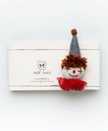 MilkTeeth Unisex Clown Brooch - Multi Color