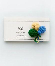 MilkTeeth Unisex Balloon Brooch - Green