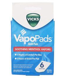 Vicks Vapo Pads - 6 Scent Pads