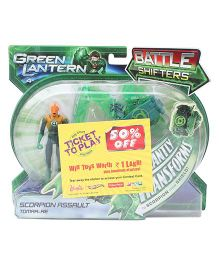 Green Lantern Scorpion Assault Tomar Re Figure Toy - Green