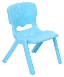 Baby Chair Puppy Design - Light Blue