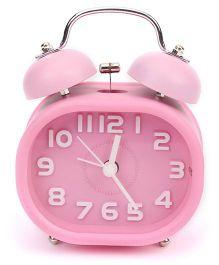 Rectangular Shape Alarm Clock - Pink