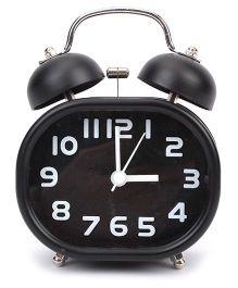 Rectangular Shape Alarm Clock - Black