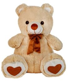 Ultra Spongy Teddy Bear Brown - 15 inches