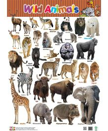 Wild Animals Chart - English