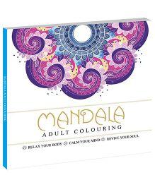 Mandala Coloring Book - English