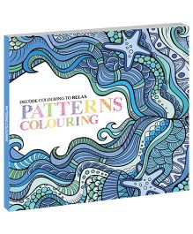 Pattern 1 Coloring Book - English