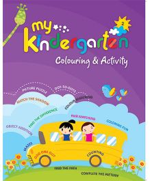 My Kindergarten Coloring And Activity Book - English