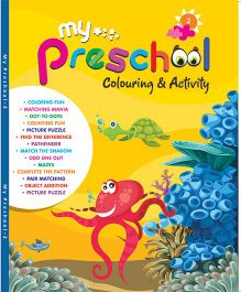 My Pre School Coloring And Activity Book - English