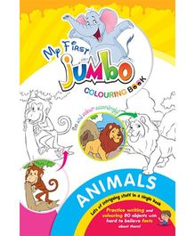 My First Jumbo Coloring Book Animals - English