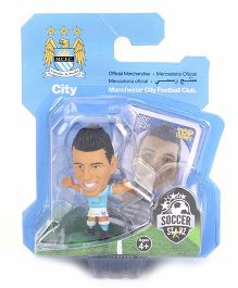 Soccerstarz Manchester City Sergio Aguero Figure Toy - 4 cm