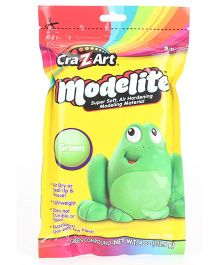 Craz Art Modelite Modelling Clay Green - 113 grams