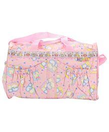 Mee Mee Nursery Bag Teddy Bear Print - Pink