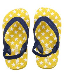 Flipside Murphy Flip Flops With Back Straps - Yellow
