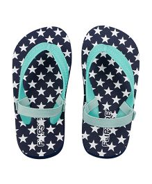 Flipside Kids Bright Star Flip Flop - Blue