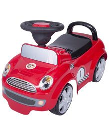EZ' Playmates Time Ride On Cooper Car - Red