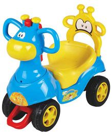 EZ' Playmates Ride On Giraffe Car - Blue