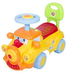 EZ' Playmates Ride On Dream Car - Yellow