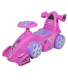 EZ' Playmates Ride On Formula Car - Pink