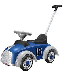 EZ' Playmates Classic Car Ride On With Navigator - Blue