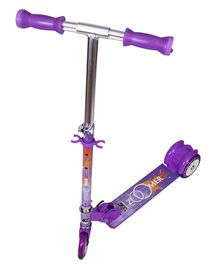 Cosmic Zoomer OS LED 3 Wheels Kids Scooter - Purple
