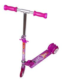Cosmic Zoomer OS LED 3 Wheels Kids Scooter - Dark Pink