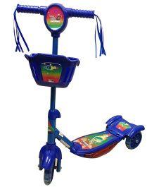 Cosmic Zoomer 3 Wheels Kids Fun Scooter - Blue