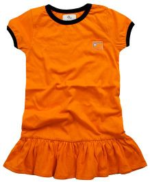 Cherry Crumble California Dress - Sunrise Orange