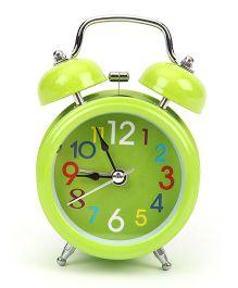 Round Shaped Alarm Clock - Green