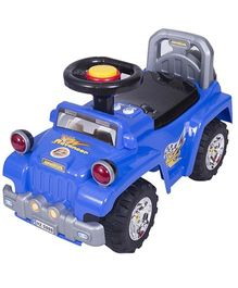 EZ' Playmates Jeep Ride On - Blue